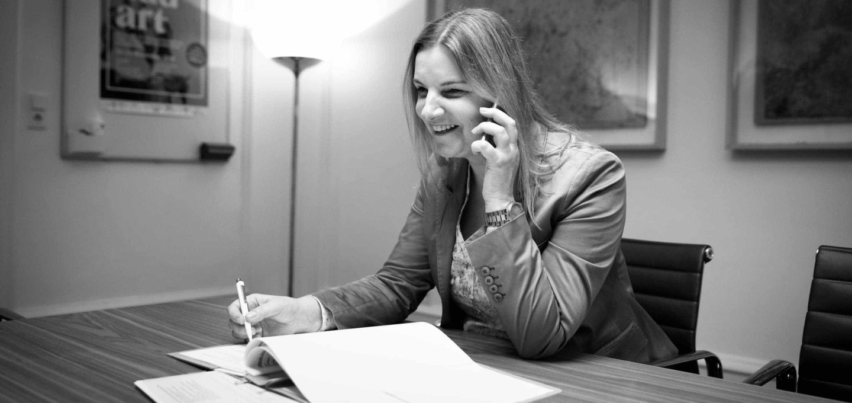 Dr. Dagmar Waldzus, Rechtsanwältin der Kanzlei Buse Heberer Fromm