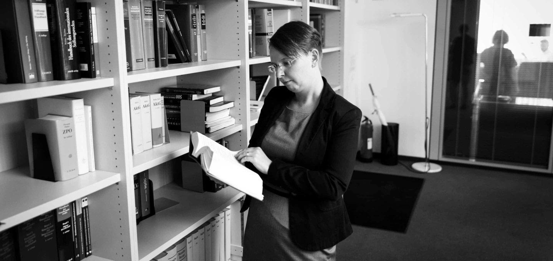 Christine Nitschke, Rechtsanwältin der Wirtschaftskanzlei Buse Heberer Fromm