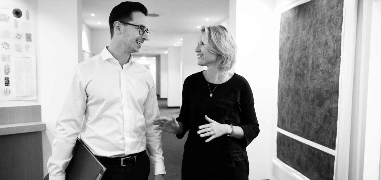 Ann-Christin Schaper und Stephan Labitzke, Rechtsanwälte der Kanzlei Buse Heberer Fromm