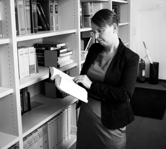 Christine Nitschke, Rechtsanwältin der Kanzlei Buse Heberer Fromm
