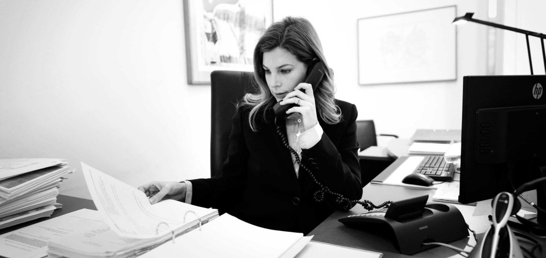 Isabelle Dierks, Rechtsanwältin der Kanzlei Buse Heberer Fromm