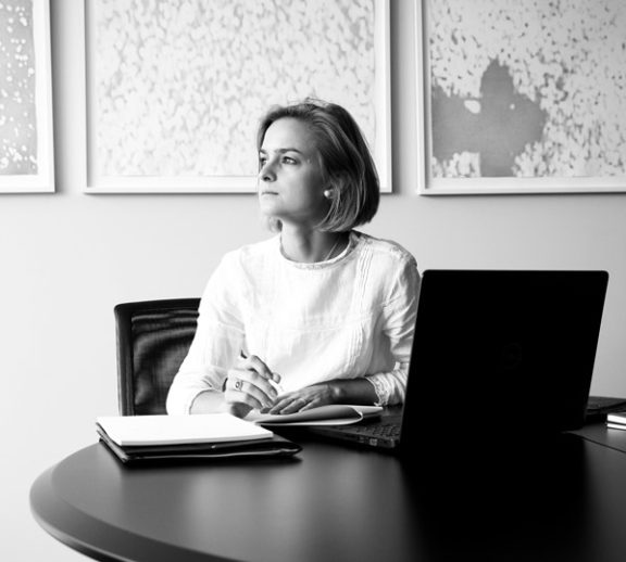 Katharina Schrader, Rechtsanwältin der Wirtschaftskanzlei Buse Heberer Fromm