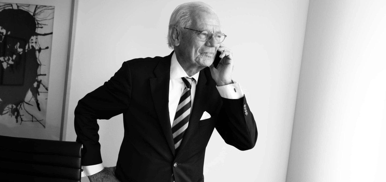 Kurt G. Sondermann, Rechtsanwalt, Wirtschaftsprüfer und Steuerberater der Kanzlei Buse Heberer Fromm
