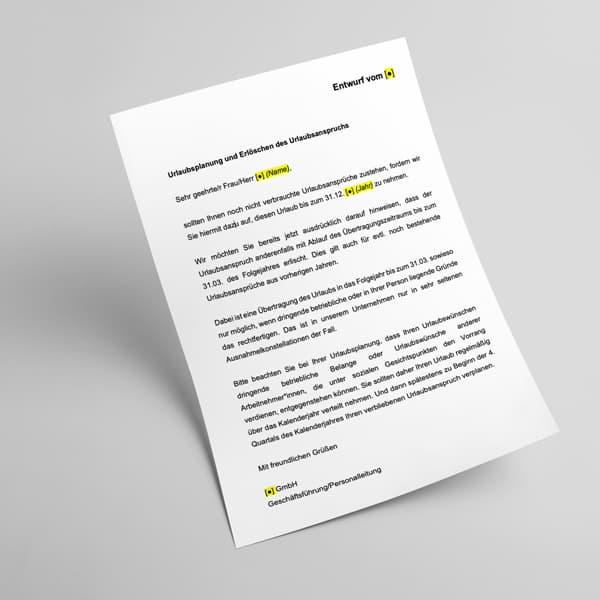 Informationspflichten der Unternehmen im Urlaubsrecht, Insight von Julia Bruck, Rechtsanwältin bei Buse Heberer Fromm