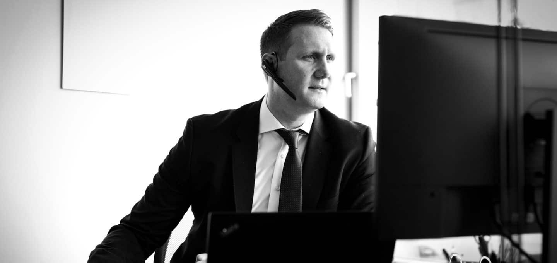 Dr. Dr. Simon Alexander Lück, Rechtsanwalt der Wirtschaftskanzlei Buse Heberer Fromm