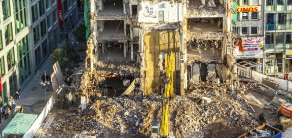 Mietrecht: Mietminderung wegen Baulärm bei Gewerbe doch zulässig?