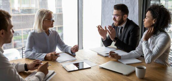 Umgang und Verhandlungen mit dem Betriebsrat