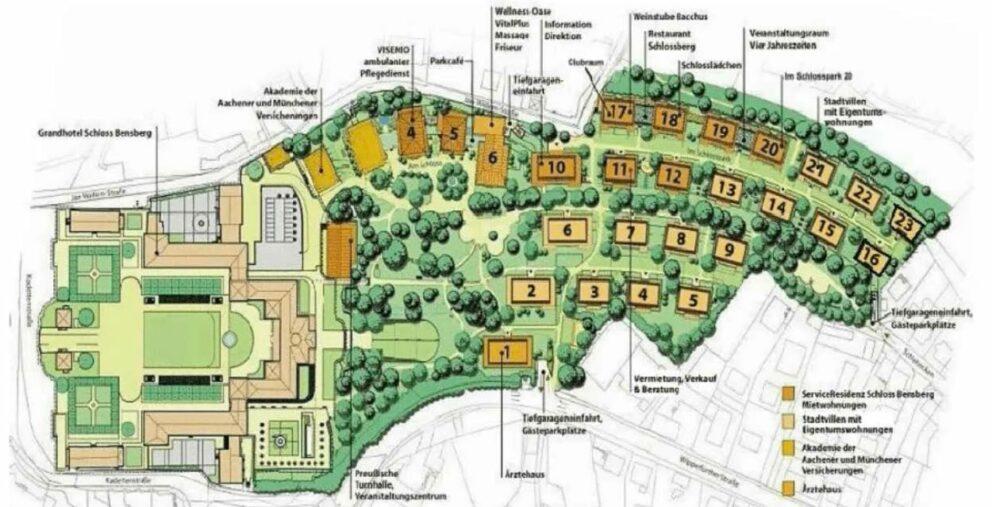 BUSE berät APLEONA Invest bei dem Erwerb der Service Residenz Schloss Bensberg in Bergisch Gladbach